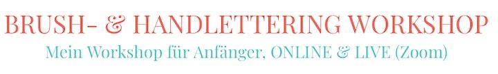 Online HandLettering Workshop (4 Wochen-Kurs): Bild