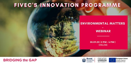 """ENVIRONMENTAL MATTERS"" - INTRODUCTION TO CIRCULAR ECONOMY (Webinar) tickets"