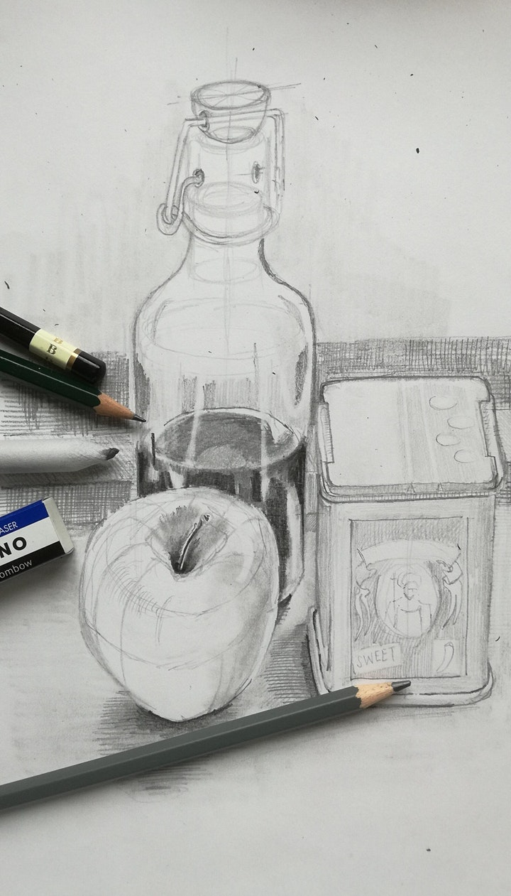 Drawing Skills (An Introduction) with Sophie Artemis image