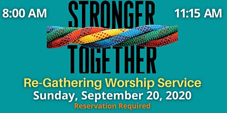Re-Gathering Worship Service tickets