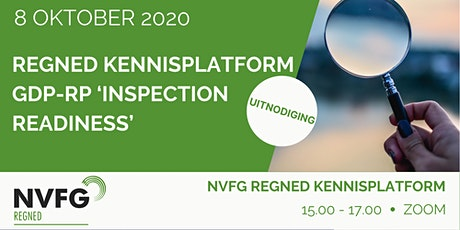 NVFG RegNed Kennisplatform GDP-RP 'Inspection Readiness' tickets