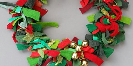 Christmas Fabric Wreath Workshop with Agnis Smallwood tickets