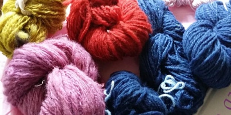 Loom & Lunch - Spinning and Natural Dyeing Workshop tickets
