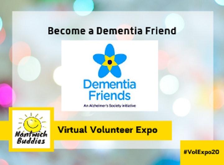 Virtual Community Expo - Dementia Friends & Listening Skills image