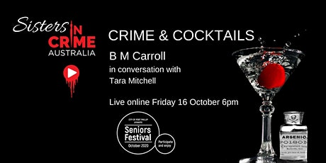Crime & Cocktails - Sisters in Crime at Port Phillip Seniors Festival tickets