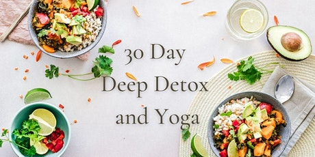30 Day Deep Detox and Yoga tickets