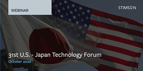 31st U.S.-Japan Technology Forum tickets