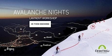 ORTOVOX AVALANCHE NIGHTS | Český Ráj Outdoor tickets