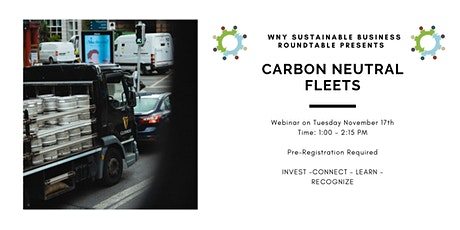 Carbon Neutral Fleets tickets