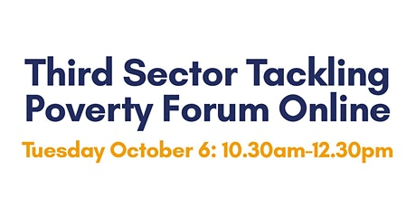 Third Sector Tackling Poverty Forum tickets