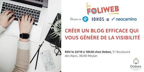 [Grenoble] Créer un blog efficace qui vous génère de la visibilité billets