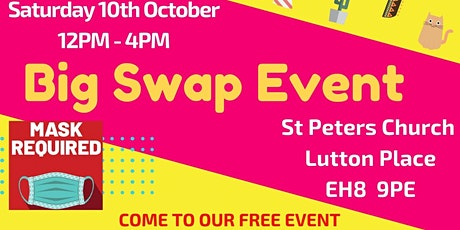 Big Swap Shop Event // Free clothes, utensils, books, etc tickets