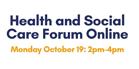 Third Sector Health and Social Care Forum tickets