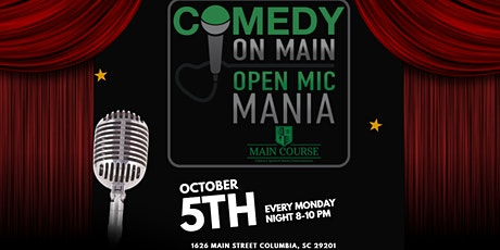 Comedy on Main Open Mic Mania tickets
