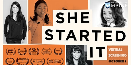 """Virtual Screening of """"SHE STARTED IT"""" tickets"""