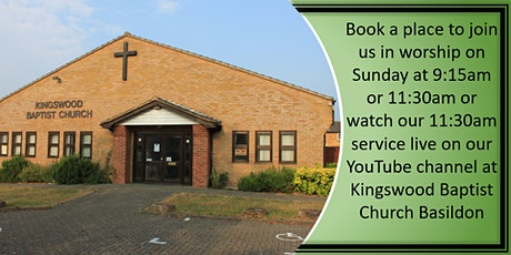 Sunday Morning Worship - 11:30am tickets