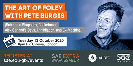 The Art of Foley with Pete Burgis tickets