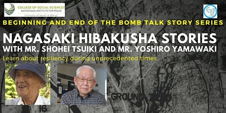 Nagasaki Hibakusha Stories tickets