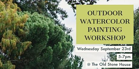 Outdoor Watercolor Painting Workshop tickets