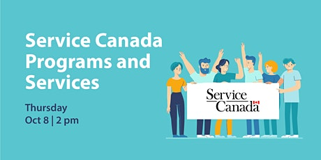 Service Canada Programs and Services tickets