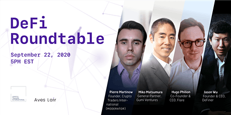 DeFi Roundtable tickets