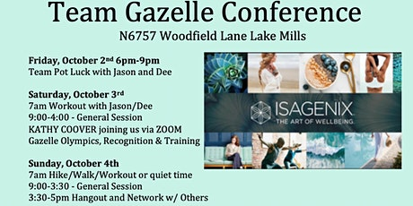 Gazelle Team Conference tickets