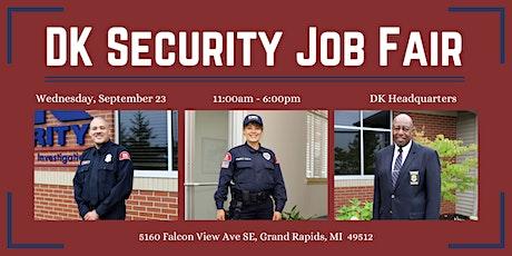 DK Security Job Fair tickets