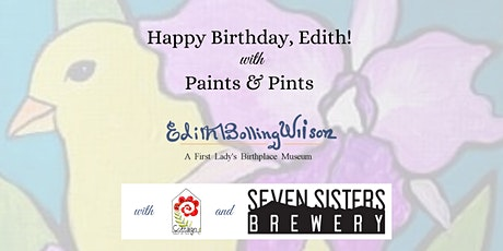 Happy Birthday Edith with Paints & Pints tickets