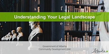 Understanding Your Legal Landscape - A Live Interactive  Webinar tickets