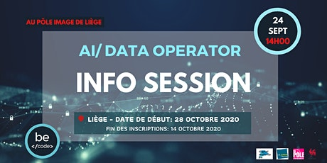 INFO SESSION - AI/DATA OPERATOR - LIEGE billets