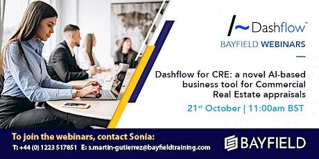 Property Webinar: Dashflow for CRE: A Novel AI-Based Business Tool tickets