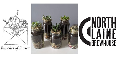Make your own Succulent Jar at The North Laine Brewhouse tickets