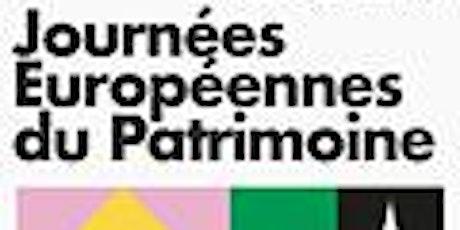 Journées européennes du Patrimoine : bibliothèque Stanislas billets