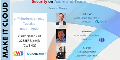Security on Cloud (Azure and Teams) tickets