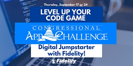 Rep. Price's Congressional App Challenge Digital Jumpstarter with Fidelity! tickets