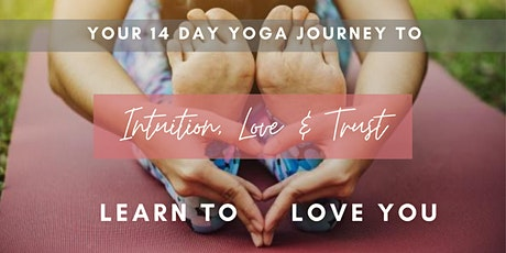 FREE 14 Day Yoga Journey for Intuition, Love & Trust