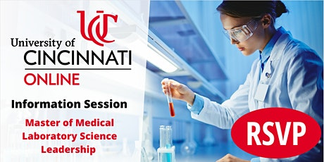 Information Session - Master of  Medical Laboratory Science Leadership tickets