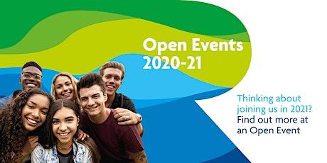 Open Event Thursday 12 November 2020 tickets