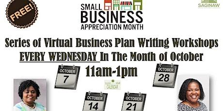 Business Plan Writing Workshops Virtual Series tickets