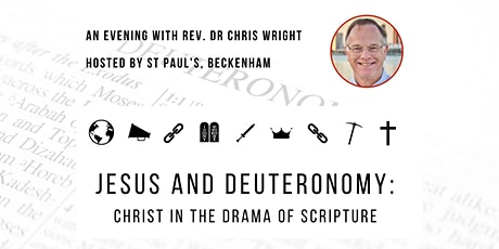 Jesus and Deuteronomy: Christ in the Drama of Scripture tickets