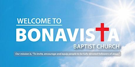 Bonavista Baptist Church Sunday Worship tickets