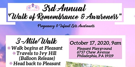 3rd Annual Walk Of Remembrance & Awareness tickets