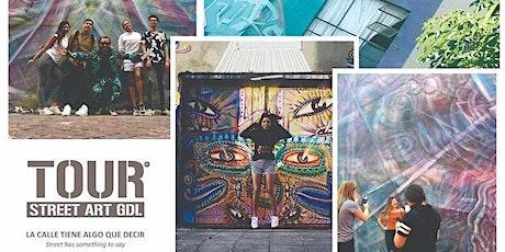#tourstreetartGDL - Street art walking tour Americana Gdl boletos