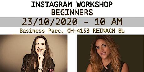 Introduction To Instagram Workshop billets