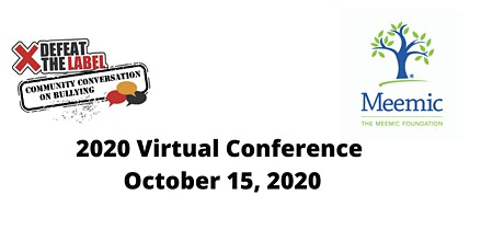 2020 Virtual Community Conversation on Bullying tickets