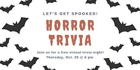 Virtual Horror Trivia Night tickets