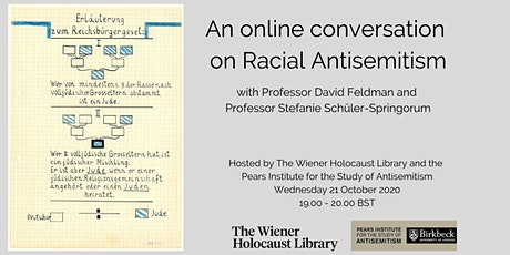 An Online Conversation on Racial Antisemitism tickets