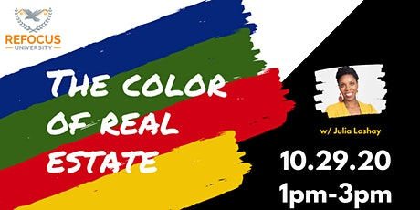 The Color of Real Estate (MN CE pending) tickets