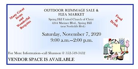 Outdoor Fall Rummage Sale & Flea Market tickets