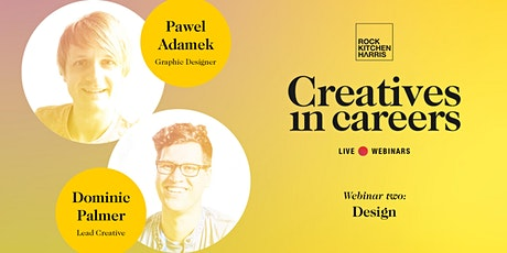 Creatives in Careers - Design tickets